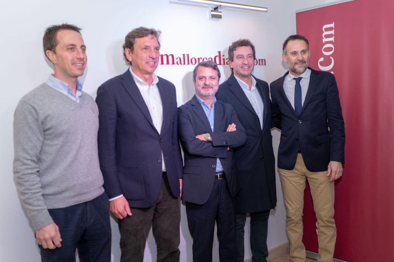 Miembros del PP: Galmés, Isern y Company