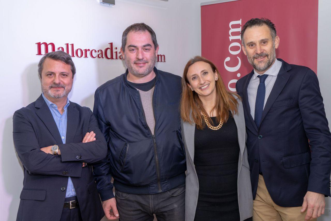 Josep de Luis (OCB) y la abogada Francesca Jaume