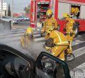 incendio de un vehículo en Coll d'en Rabassa