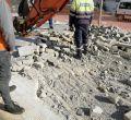 Primera jornada de obras en Playa de Palma