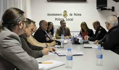 La Policía se planteó tomar en Palma la foto de los refuerzos