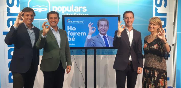 'Ho farem bé', lema del PP para las elecciones del 26 de mayo