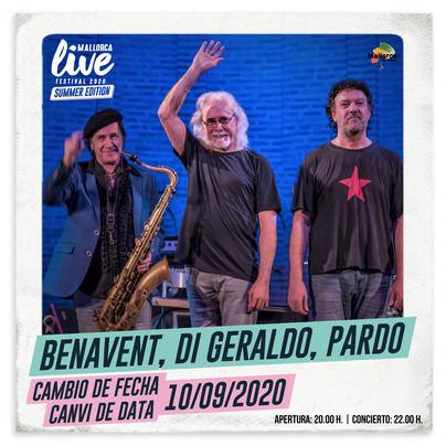 El concierto de Benavent, Di Geraldo y Pardo en Mallorca Live Festival se aplaza al 10 de septiembre