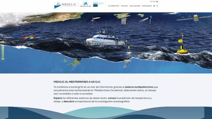 Una web acerca la investigación oceanográfica a todos los públicos