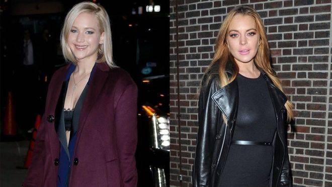 Jennifer Lawrence se mofa de Lindsay Lohan