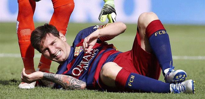 Messi, de baja por un cólico nefrítico