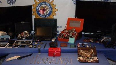 A prisión 4 personas por múltiples robos en casas de Palma