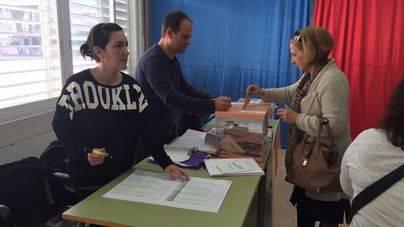 Normalidad en los colegios electorales