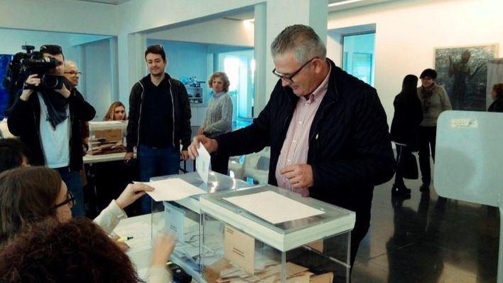 Font ha votado en Sa pobla