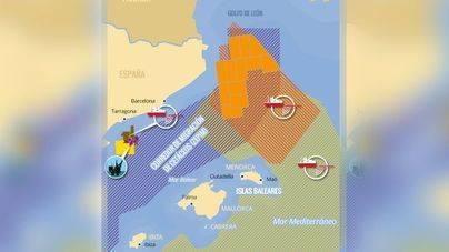El Golfo de León se encuentra al norte de Balears