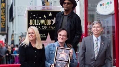 Tarantino ya tiene estrella en el paseo de la Fama