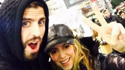 Piqué y Shakira, navidades en Tokio