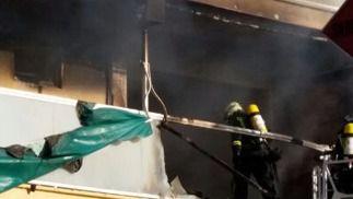 Mueren dos ancianos en un incendio en su casa