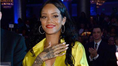 Rihanna se ve envuelta en un tiroteo