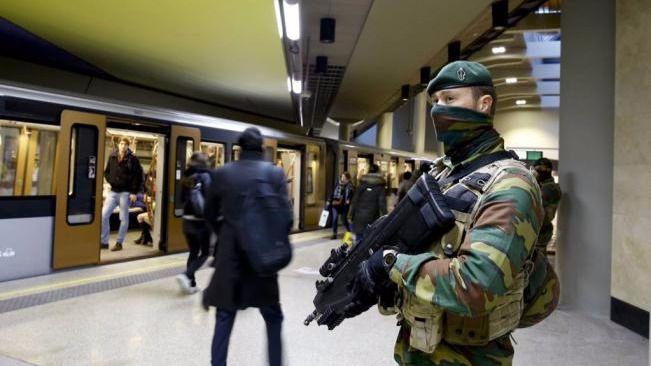 Dos detenidos que preparaban atentados en Nochevieja en Bruselas