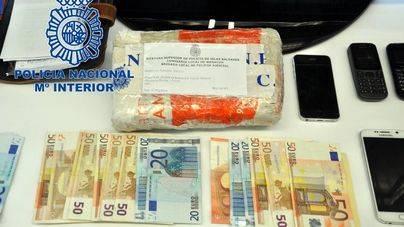 4 detenidos cuando iban a 'entrar' 1 kilo de cocaína en Mallorca