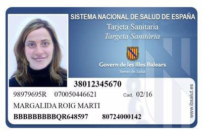 La tarjeta sanitaria ya es gratuita en Balears