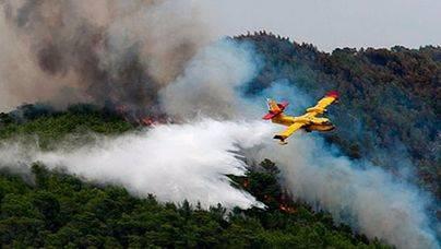 Más de 100 hectáreas han sido devoradas por las llamas en 2015 en Balears