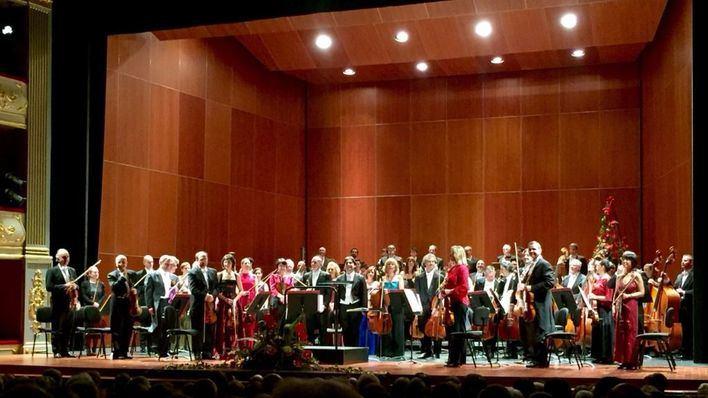 La Simfònica de Balears recibe el Año Nuevo llenando el Teatre Principal de Palma