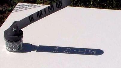 Creado el reloj solar que marca la hora en formato digital
