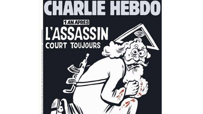 Charlie Hebdo reivindica la sátira un año después del atentado yihadista