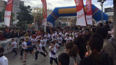 800 niños llenan Ses Estacions en la VII Cursa de Reis