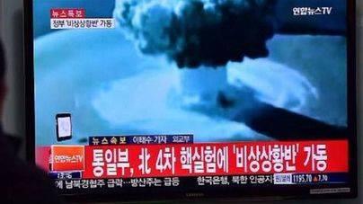 Ensayo nuclear de Corea del Norte con una bomba de hidrógeno