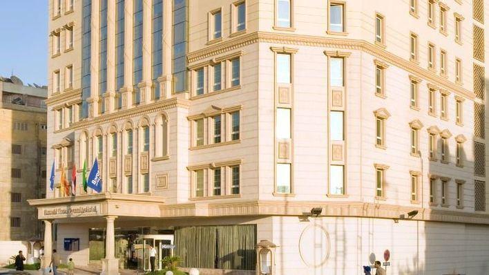 Hotel junto al que se ha producido el ataque