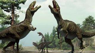 Los dinosaurios tenían un baile para aparearse
