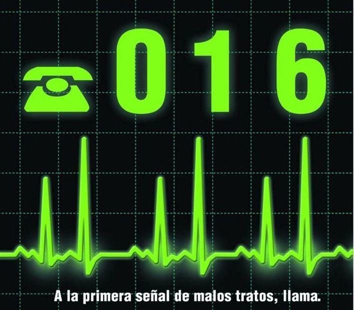 Récord de llamadas al teléfono 016 en 2015