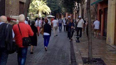 El gasto de los turistas en Balears cayó un 8,2% en noviembre