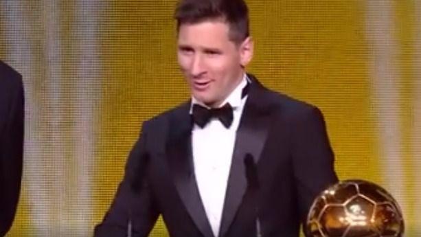 Messi se hace con su quinto Balón de Oro