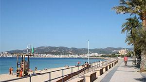 Las playas urbanas de Palma tendrán 5 socorristas más