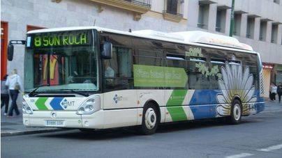 Los usuarios de bus aumentaron en noviembre un 3,6%
