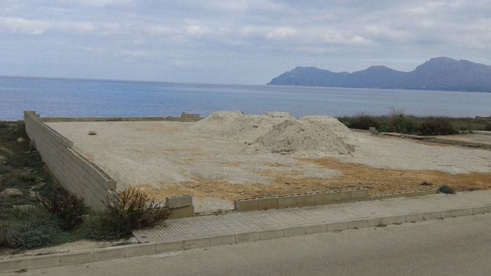 El GOB denuncia un vertido ilegal de escombros en Son Serra de Marina