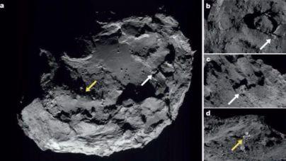 Rosetta confirma la existencia de agua en un cometa
