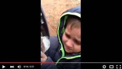 El conmovedor reencuentro entre un niño y su perro perdido desde hace un mes