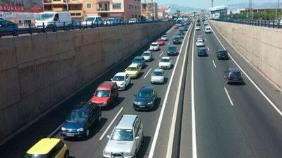 Las carreteras de Mallorca soportaron en 2015 un 5% más de tráfico