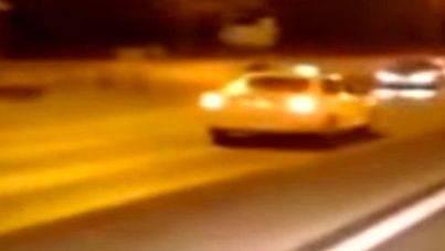Un taxista kamikaze siembra el pánico en Madrid