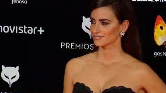 Penélope Cruz reaparece en los premios Feroz