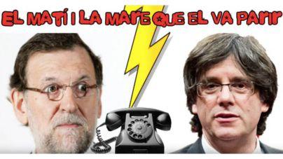 Un imitador consigue hablar con Mariano Rajoy