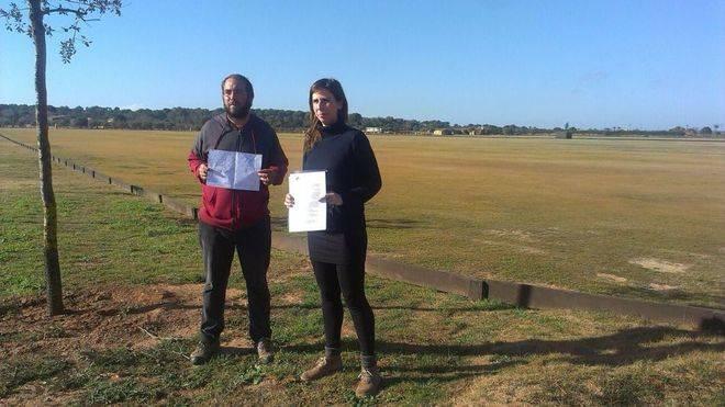 El GOB exige que se paralicen las pistas de polo en Campos