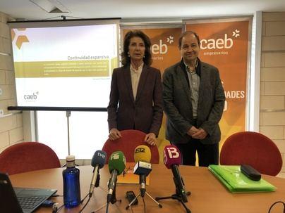 """La CAEB considera que Balears ha recuperado en 2017 'los niveles de actividad precrisis"""""""