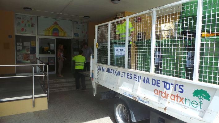 Andratx reciclará en las escuelas para concienciar