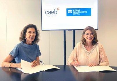 Caeb y Aldeas Infantiles Sos se unen a favor de los menores más desfavorecidos de Balears