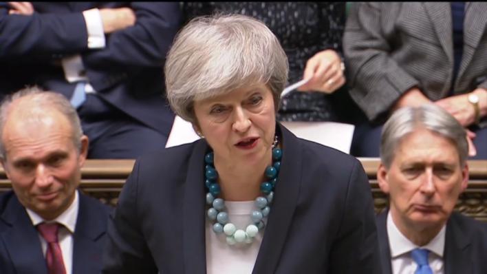 May pedirá al Consejo Europeo una prórroga del Brexit antes del jueves