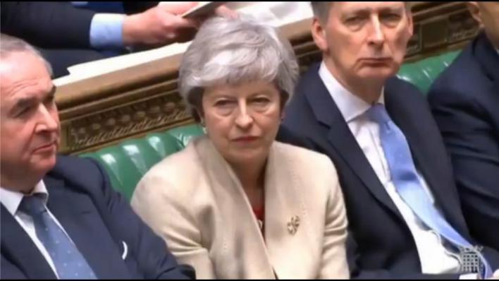 La Cámara de los Comunes tumba por tercera vez el acuerdo del Brexit