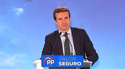Casado acusa a Sánchez de estar 'patrocinando la sedición'