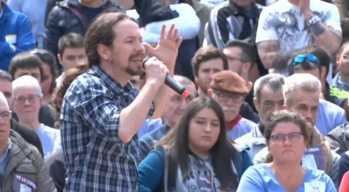Iglesias dice que el PSOE