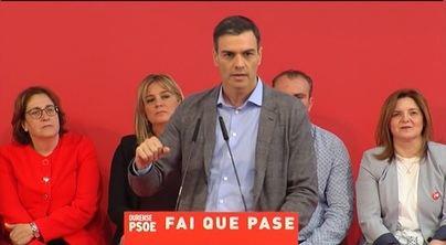 Sánchez: 'Lo importante en unas elecciones es cómo acaban'